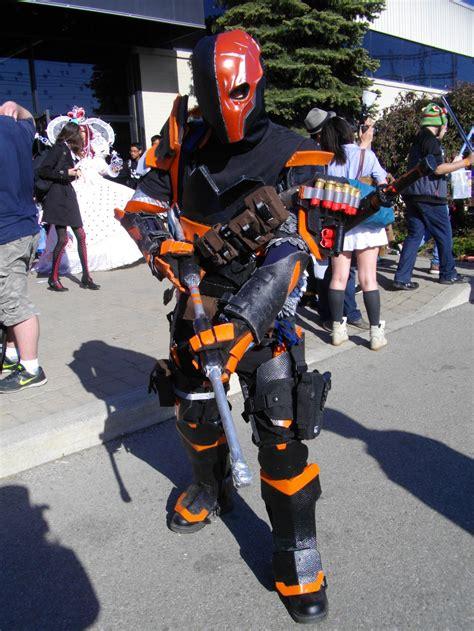 best 25 deathstroke costume ideas deathstroke by nemesisomega on deviantart