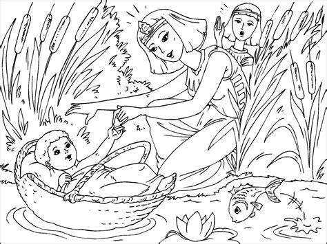imagenes sud antiguo testamento bebe moises para imprimir paracolorear net