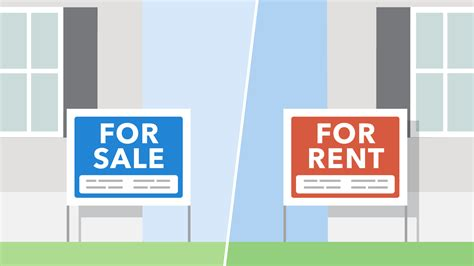 rent house to buy making the decision to rent or buy consumer financial