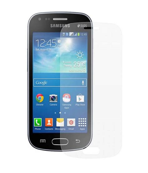 Tempered Glass Duos samsung galaxy s duos 7562 tempered glass screen guard by m zone buy samsung galaxy s duos