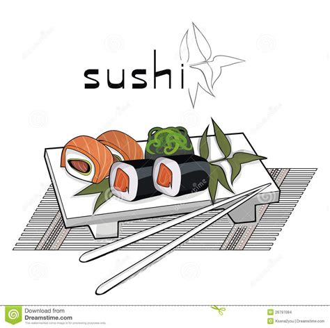 sushi fan cafe menu sushi menu with fan and candle stock images image