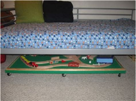 under bed train table make an under the bed train table it s easy baby