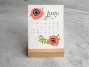 desk calendar with stand 2017 desk calendar with wood stand botanical by favoritestory