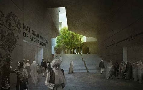 national museum  afghanistan kabul building  architect