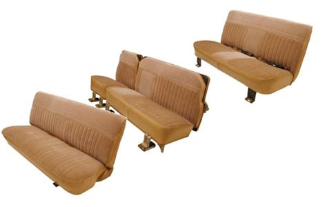 suburban bench seat 81 91 chevy suburban seat upholstery complete set front