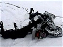Motorrad Fahren Schnee by Motorrad Und Schnee Zwei Welten Prallen Aufeinander