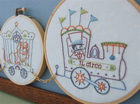 Handmade Embroidery Designs - embroidery patterns il circo embroidery patterns vintage