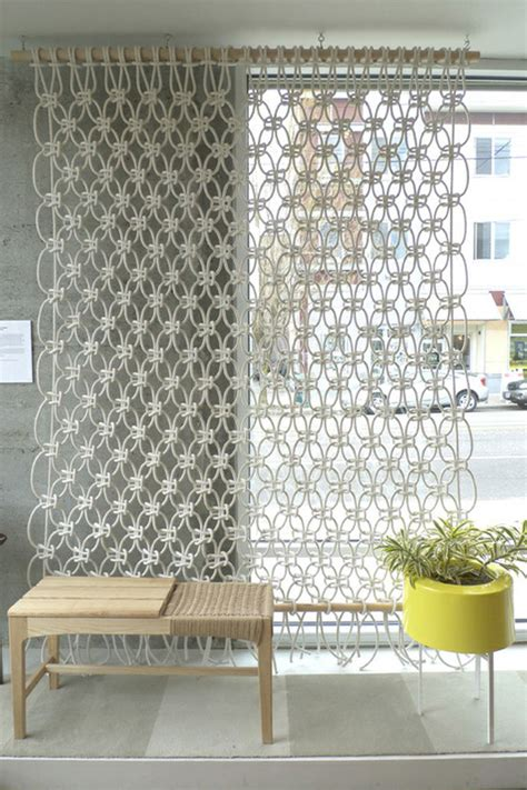Macrame Room Divider Not Yo S Macrame Top 5 Modern Macrame Products California Home Design
