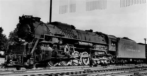 steam locomotive diagrams of the chesapeake ohio railroad c o steam locomotive 2737 kenora ky c 1949 c and o railroad steam locomotive