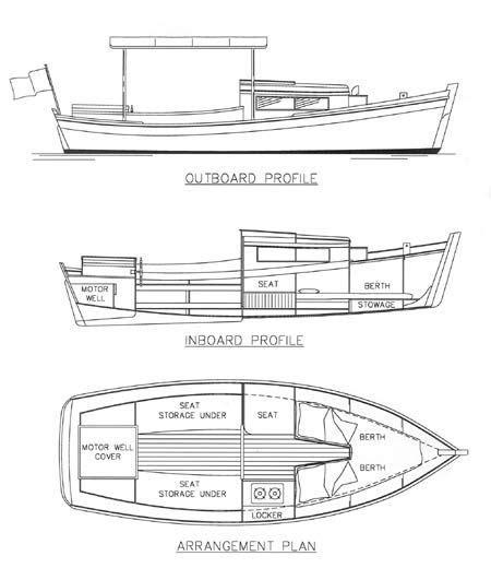 toy boat jim gill redwing 18 power c cruiser chesapeake marine design