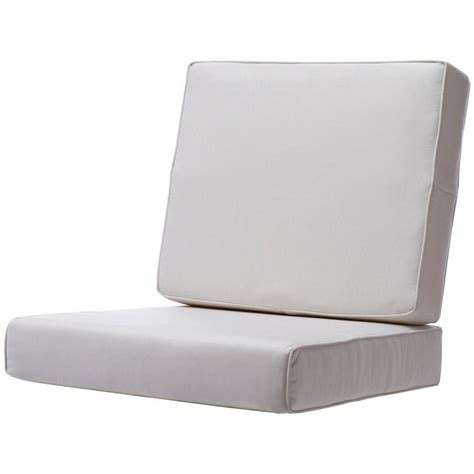 Outdoor Lounge Cushions Sunbrella Home Decorators Collection Sunbrella Canvas Outdoor Lounge