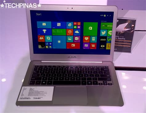 Asus Zen Laptop Philippines asus zenbook ux305la intel i7 and i5 ultrabook prices announced in the philippines techpinas