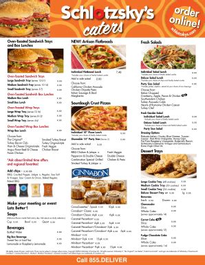 Schlotzsky S Printable Menu schlotzskys fill printable fillable blank