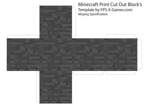 minecraft cut out templates minecraft cut outs and cubes on