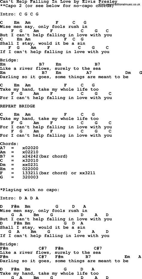 ukulele tutorial can t help falling in love can t help falling in love by elvis presley lyrics and