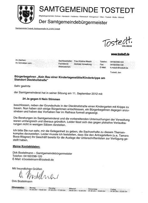 Mahnung Muster Anwalt November 2012 Historisches Tostedt Erhalten