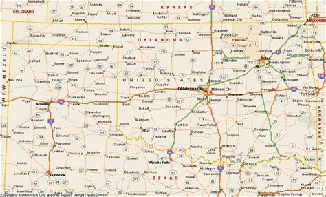 ou map oklahoma state map with cities and towns memes