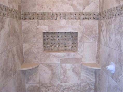 Ceramic Tiling A Shower by Ceramic Tile Shower Stall