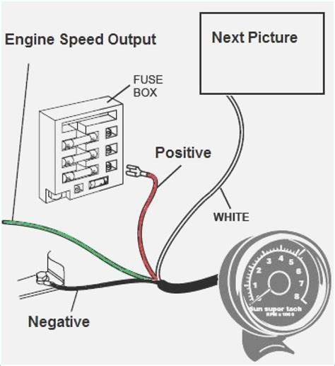 how to wire a tachometer diagrams vivresaville