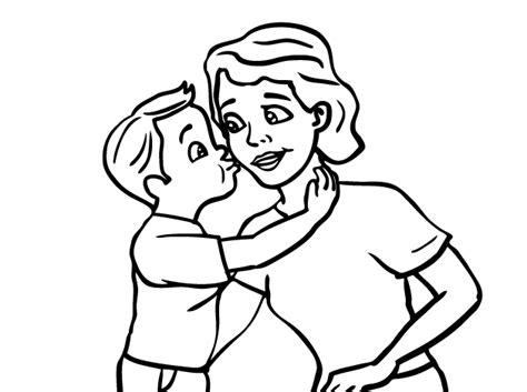 imagenes de amor dandose un beso para dibujar corazones para colorear