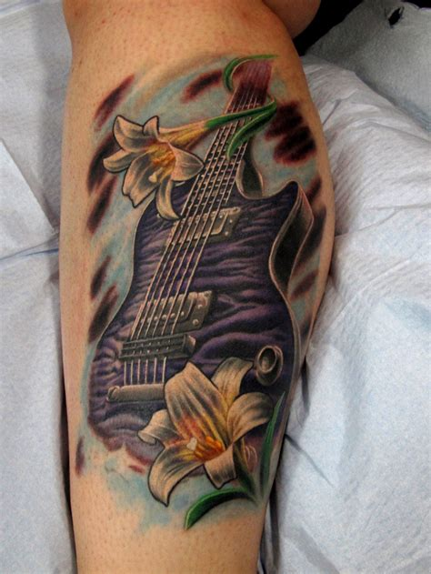 guitar tattoo designs free guitar tattoos designs ideas and meaning tattoos for you