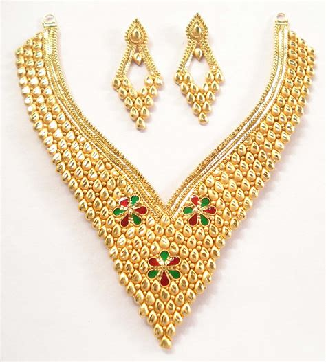 variety of new gold necklace designs latest fashion today