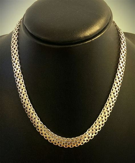 italy milor silver necklace 925 kt catawiki