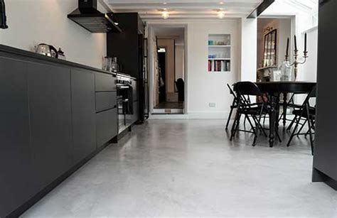 Modern Kitchen Designs Sydney Polished Concrete Flooring Seamless Floors