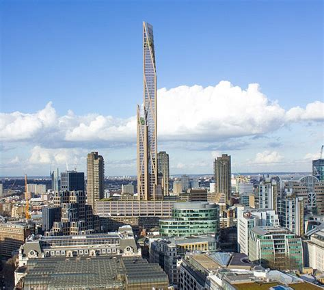 Skyline Homes Floor Plans london to get 1000ft wooden skyscraper alongside barbican