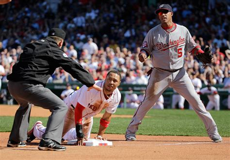 mookie betts shines as sox whip nationals 9 4 in