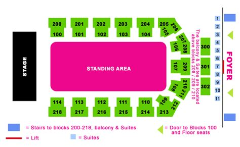 O2 Arena Floor Seating Plan mcfly with support from avenue and reemer metro radio arena