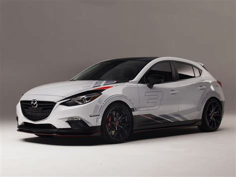 mazda3 club sport 3 concept pictures and details