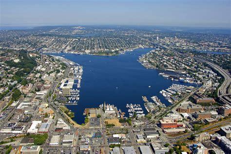 boat slip lake union lake union harbor in seattle wa united states harbor