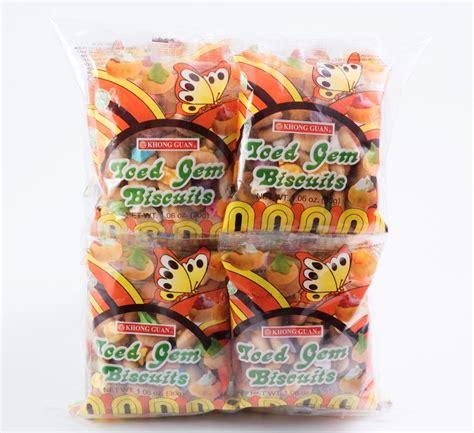 Khong Guan Biscuit Chocolate Original 1 2 bundles of khong guan iced gem biscuits ig 12 30 g x 20 packs