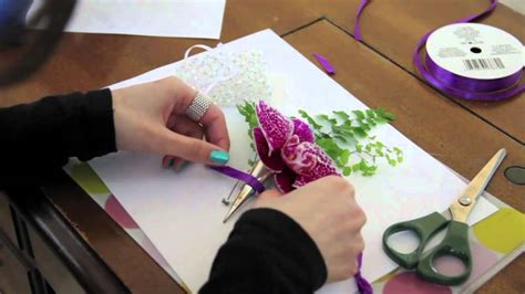 DIY: How to Make a Corsage   YouTube