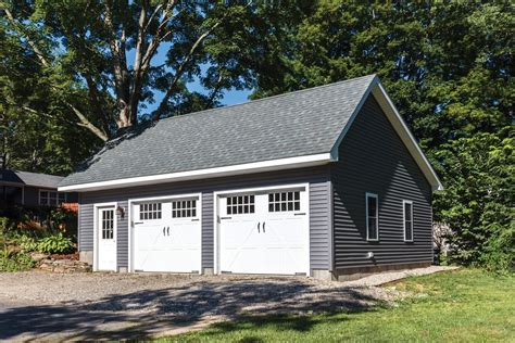 saltbox garage plans woodstock saltbox style single story garage the barn