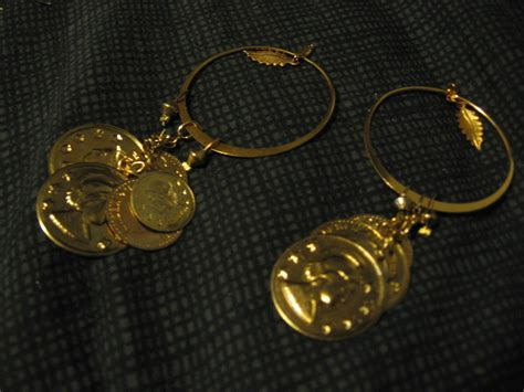 how to make jewelry out of coins diy coin earrings 183 how to make a pair of hoop