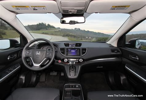 honda dashboard 2015 honda cr v exterior front the truth about cars