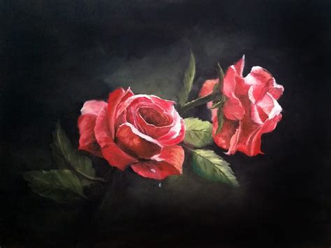 bob ross painting roses artist kevin hill painter he also has a