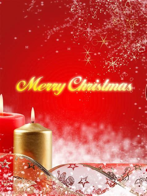 merry christmas candles wallpaper freechristmaswallpapersnet