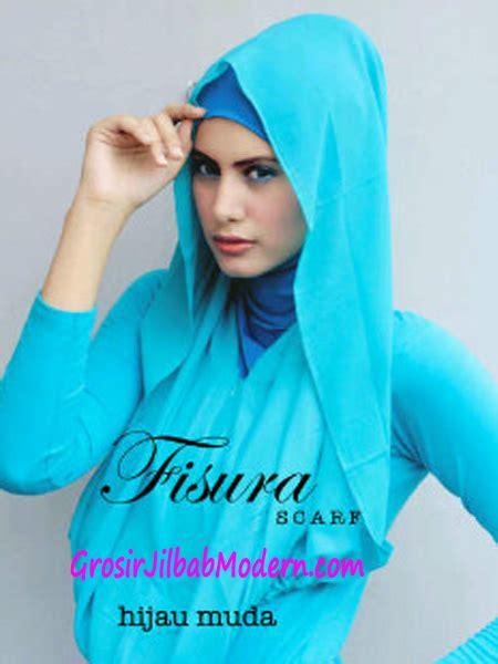 Fiori Hijau Muda jilbab hoodie rehisya hijau muda grosir jilbab modern