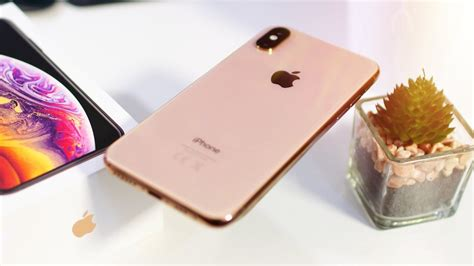 iphone xs unboxing hands  gold youtube