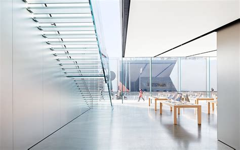 Bathroom Design San Francisco the 2nd floor floats in this new apple store culture