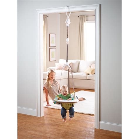 baby swing that hangs from door frame com graco bumper jumper little jungle baby