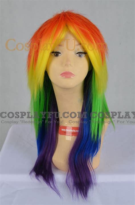 Rainbow B Wig Series rainbow dash wig from my pony cosplayfu