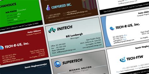 free business card templates and business card