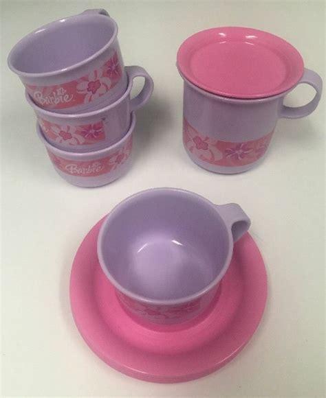 Purple Plate Tupperware tupperware mini play tea set pink purple plates tea