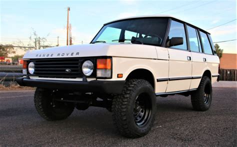 1988 range rover classic collector quality new 4 2l engine well sorted