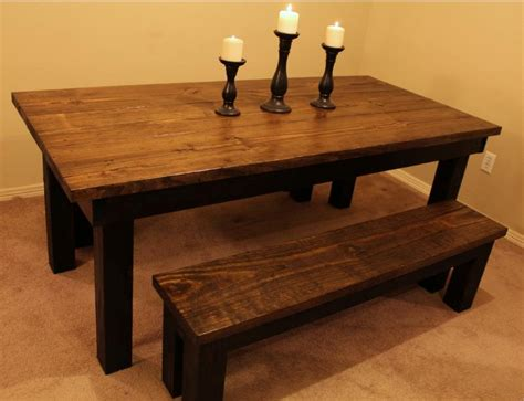 solid wood montana distressed dining room table can do
