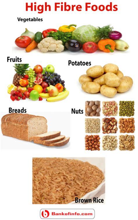 carbohydrates high in fiber high fibre foods health fiber foods